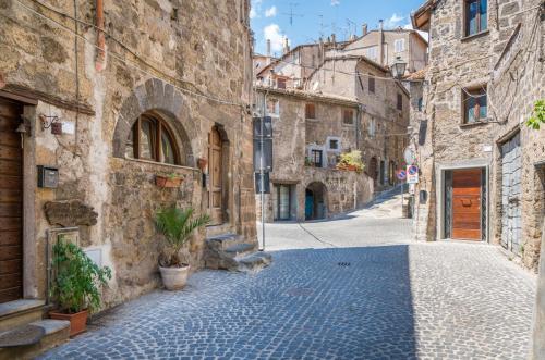 Scenic sight in Ronciglione, province of Viterbo, Lazio, central